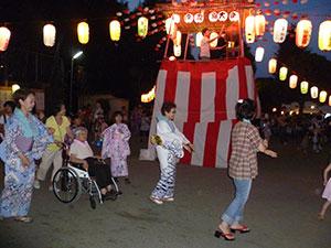盆踊り大会画像